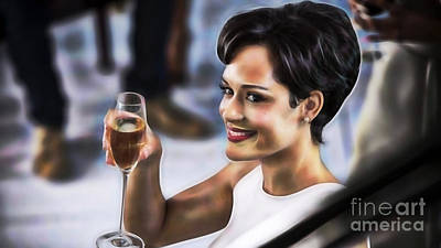 Empire Grace Gealey As Anika Gibbons Poster by Marvin Blaine