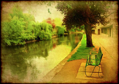 Empty Bench Poster by Svetlana Sewell