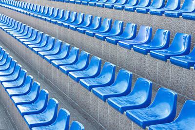 Empty Seats Poster by Boyan Dimitrov