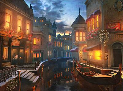 Enchanted Waters Poster by Joel Payne