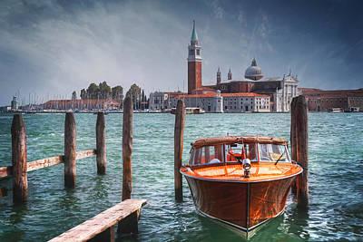 Enchanting Venice Poster by Carol Japp
