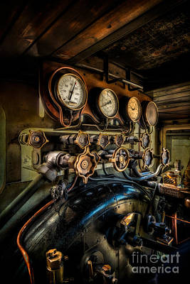 Engine Room Poster by Adrian Evans