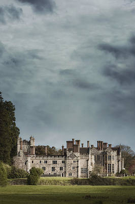 English Castle Poster by Joana Kruse