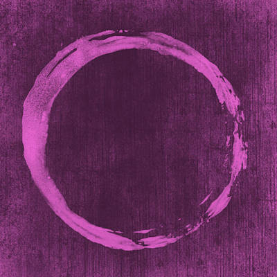 Enso Poster featuring the painting Enso 4 by Julie Niemela