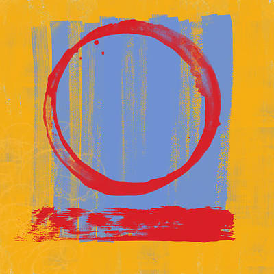 Enso Poster featuring the painting Enso by Julie Niemela