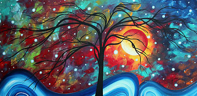 Envision The Beauty By Madart Poster by Megan Duncanson