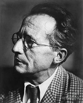 Erwin Schrodinger, Austrian Physicist Poster by Omikron