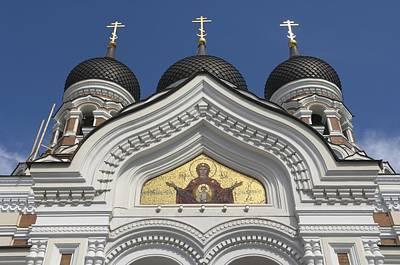 Estonia, Tallinn, St Alexander Nevski Poster by Keenpress