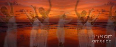 Eternal Dance Poster by Jeff Breiman