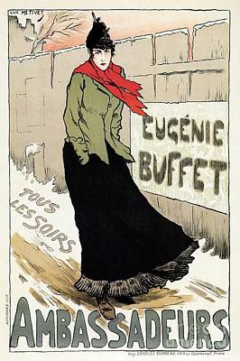 Eugenie Buffet Winter Poster by Aapshop