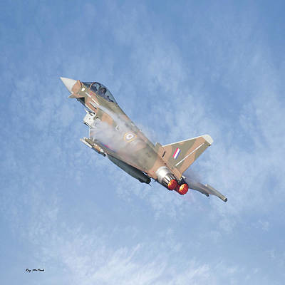 Eurofighter Poster by Roy McPeak