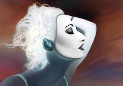 Existing In Extremes - Self Portrait Poster by Jaeda DeWalt