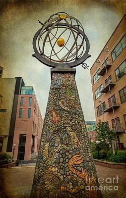 Exploration Obelisk  Poster by Adrian Evans