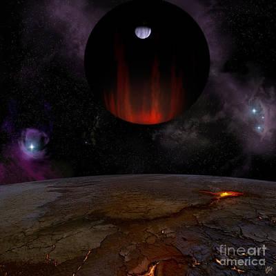 Extrasolar Planet Hd149026b Poster by Julius Csotonyi