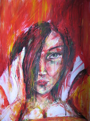 Eye Watching You Poster by Brigitte Hintner