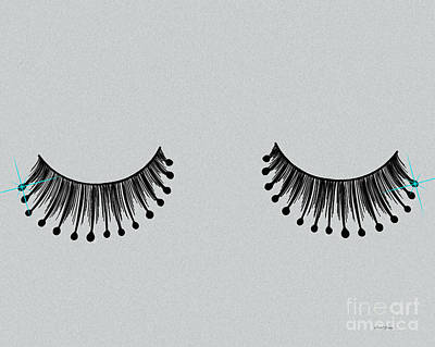 Eyelashes Poster by Cheryl Young