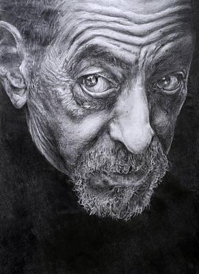 Face Poster by Joanna Woollett