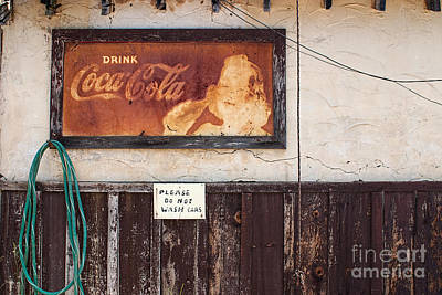 Faded Refreshment Poster by Scott Nelson