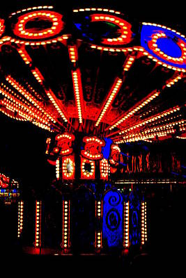 Fair Lights Poster by Dana  Oliver