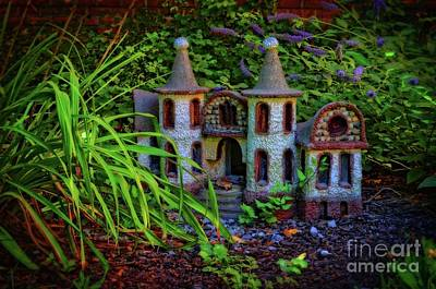 Fairy Castle Poster by Mary Machare