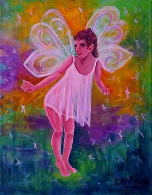 Fairy Glen Poster by Carol Allen Anfinsen