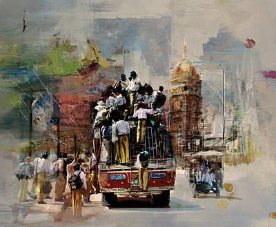 Faisalabad 9b Poster by Maryam Mughal