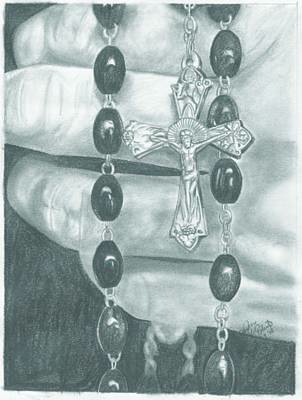 Faith Poster by Jason McRoberts
