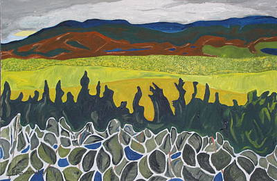 Fall Colours On Mount Megantic Qc  Poster by Francois Fournier