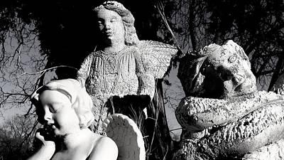 Fallen Angels Poster by Darin Baker