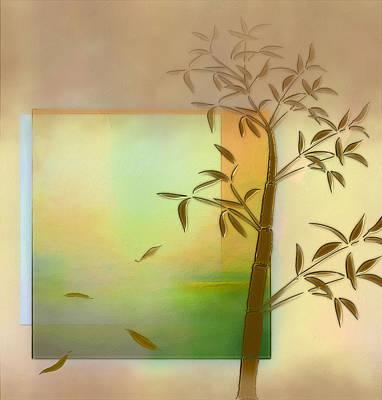 Falling Leaves Poster by Nina Bradica
