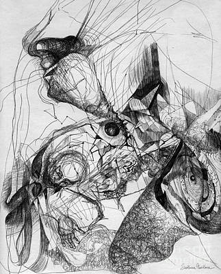 Fantasy Drawing 1 Poster by Svetlana Novikova
