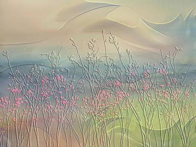 Fantasy Fields Poster by Nina Bradica