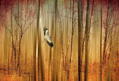 Fantasy Flight Poster by Jessica Jenney