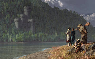 Fantasy Quest Poster by Daniel Eskridge