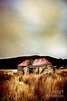 Fargone Farmhouse Poster by Jorgo Photography - Wall Art Gallery