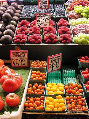 Farm Fresh Poster by Diane Greco-Lesser
