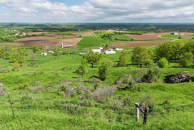 Farm Scenic Vista Ia 1 Poster by John Brueske