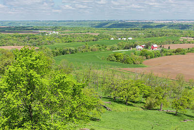 Farm Scenic Vista Ia 2 Poster by John Brueske