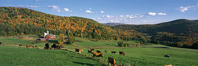 Farm Vt Usa Poster by Panoramic Images