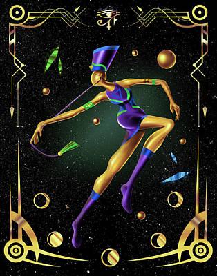 Fashion Goddess No. 4 Poster by Kenal Louis