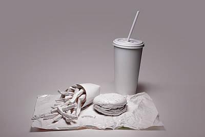 Fast Food Drive Through Poster by Tom Mc Nemar