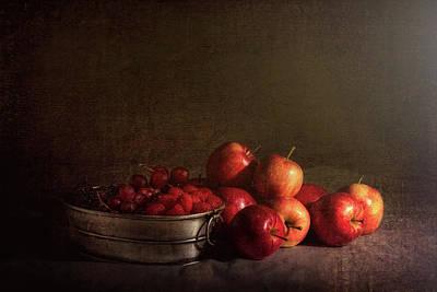 Feast Of Fruits Poster by Tom Mc Nemar