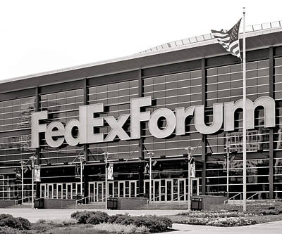 Fedex Forum Poster by Dawn Davis