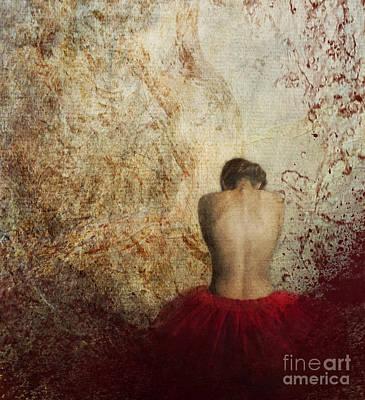 Female Back Poster by Jelena Jovanovic