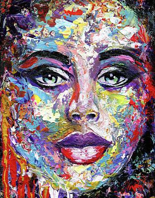 Femme Fatale #2 Poster by Elena Feliciano