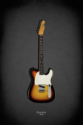 Fender Esquire 59 Poster by Mark Rogan