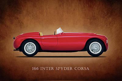 Ferrari 166 Inter Spyder Poster by Mark Rogan