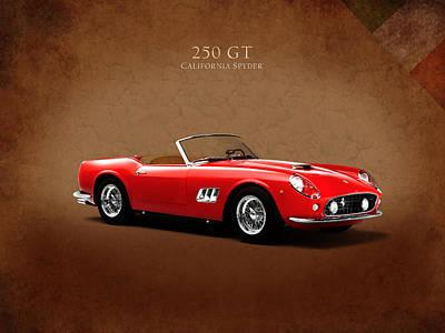 Ferrari 250 Gt Poster by Mark Rogan