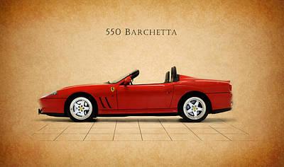 Ferrari 550 Barchetta Poster by Mark Rogan