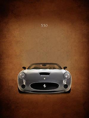 Ferrari 550 Poster by Mark Rogan